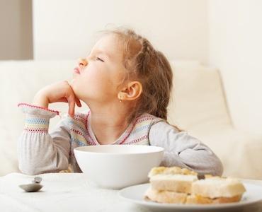 I disturbi alimentari dei bambini