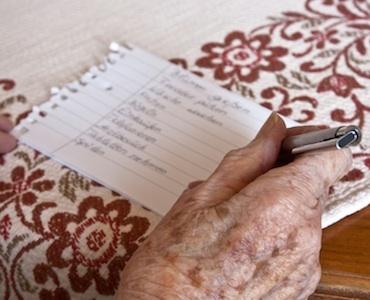 Il training cognitivo per l'Alzheimer