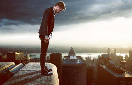 Convivere con la paura del vuoto