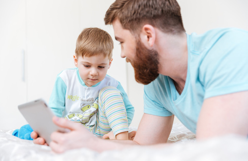 Bambini e tablet, istruzioni per l'uso