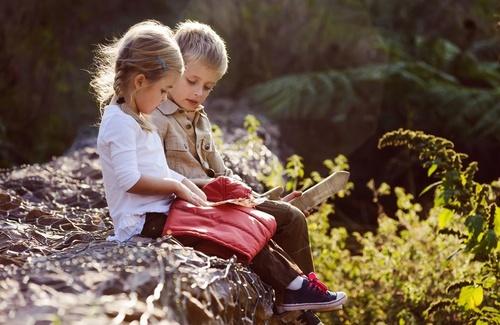 I bambini a contatto con la natura crescono meglio
