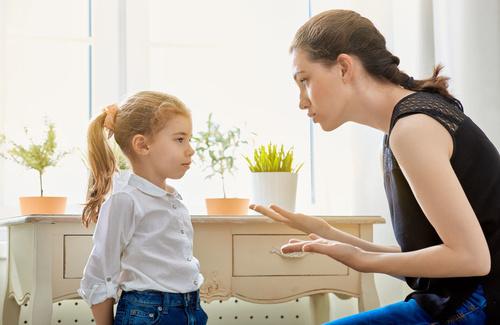 Consigli per sgridare (bene) i figli