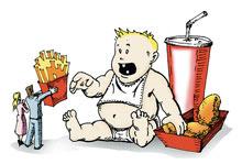 Obesità nei bambini e relazioni familiari