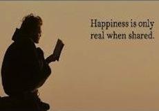 Condividere la felicità: dividere per moltiplicare